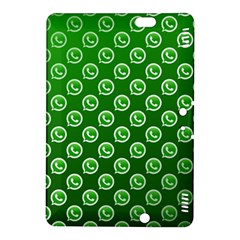 Whatsapp Logo Pattern Kindle Fire HDX 8.9  Hardshell Case