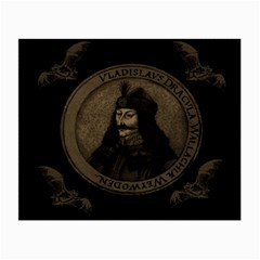 Count Vlad Dracula Small Glasses Cloth