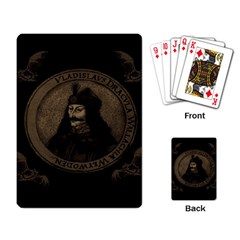 Count Vlad Dracula Playing Card
