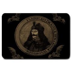 Count Vlad Dracula Large Doormat