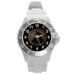 Count Vlad Dracula Round Plastic Sport Watch (L)
