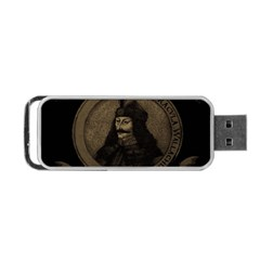 Count Vlad Dracula Portable USB Flash (One Side)