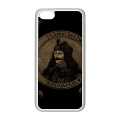 Count Vlad Dracula Apple iPhone 5C Seamless Case (White)