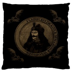 Count Vlad Dracula Standard Flano Cushion Case (Two Sides)