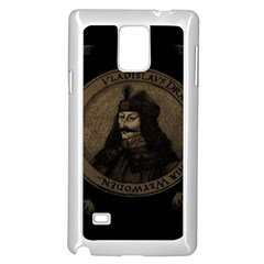 Count Vlad Dracula Samsung Galaxy Note 4 Case (White)