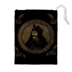 Count Vlad Dracula Drawstring Pouches (Extra Large)