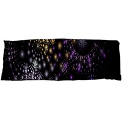 Fractal Patterns Dark Circles Body Pillow Case (dakimakura)