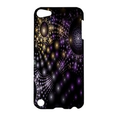 Fractal Patterns Dark Circles Apple iPod Touch 5 Hardshell Case