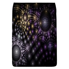 Fractal Patterns Dark Circles Flap Covers (S)