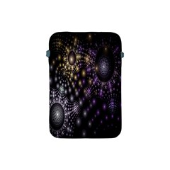 Fractal Patterns Dark Circles Apple iPad Mini Protective Soft Cases