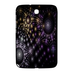 Fractal Patterns Dark Circles Samsung Galaxy Note 8.0 N5100 Hardshell Case