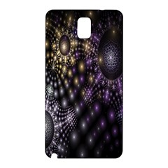 Fractal Patterns Dark Circles Samsung Galaxy Note 3 N9005 Hardshell Back Case