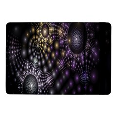 Fractal Patterns Dark Circles Samsung Galaxy Tab Pro 10.1  Flip Case