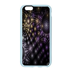Fractal Patterns Dark Circles Apple Seamless iPhone 6/6S Case (Color)