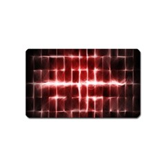 Electric Lines Pattern Magnet (Name Card)