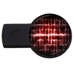 Electric Lines Pattern USB Flash Drive Round (2 GB)
