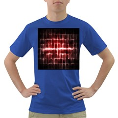 Electric Lines Pattern Dark T-Shirt