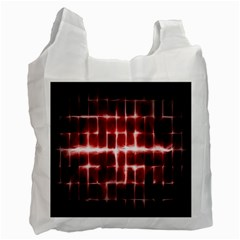 Electric Lines Pattern Recycle Bag (Two Side)