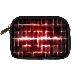 Electric Lines Pattern Digital Camera Cases