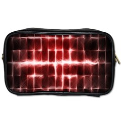 Electric Lines Pattern Toiletries Bags