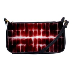 Electric Lines Pattern Shoulder Clutch Bags