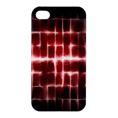 Electric Lines Pattern Apple iPhone 4/4S Hardshell Case