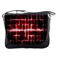 Electric Lines Pattern Messenger Bags