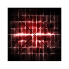 Electric Lines Pattern Acrylic Tangram Puzzle (6  x 6 )