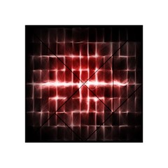 Electric Lines Pattern Acrylic Tangram Puzzle (4  x 4 )