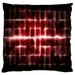 Electric Lines Pattern Large Cushion Case (Two Sides)
