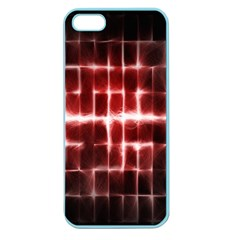 Electric Lines Pattern Apple Seamless Iphone 5 Case (color)
