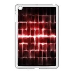 Electric Lines Pattern Apple iPad Mini Case (White)