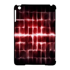 Electric Lines Pattern Apple iPad Mini Hardshell Case (Compatible with Smart Cover)