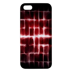 Electric Lines Pattern Apple iPhone 5 Premium Hardshell Case