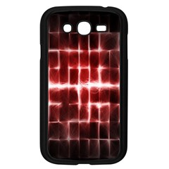 Electric Lines Pattern Samsung Galaxy Grand Duos I9082 Case (black)