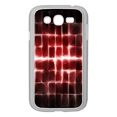 Electric Lines Pattern Samsung Galaxy Grand DUOS I9082 Case (White)