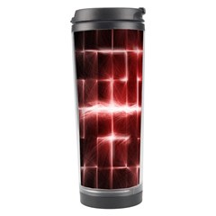 Electric Lines Pattern Travel Tumbler