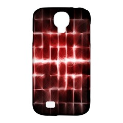 Electric Lines Pattern Samsung Galaxy S4 Classic Hardshell Case (PC+Silicone)