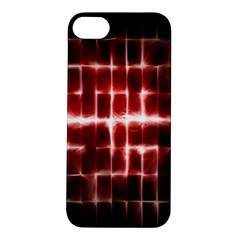 Electric Lines Pattern Apple iPhone 5S/ SE Hardshell Case