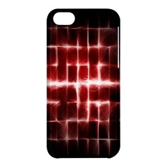 Electric Lines Pattern Apple iPhone 5C Hardshell Case