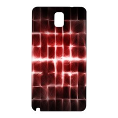 Electric Lines Pattern Samsung Galaxy Note 3 N9005 Hardshell Back Case