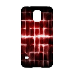 Electric Lines Pattern Samsung Galaxy S5 Hardshell Case