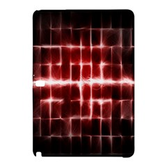 Electric Lines Pattern Samsung Galaxy Tab Pro 12 2 Hardshell Case