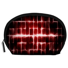 Electric Lines Pattern Accessory Pouches (Large)