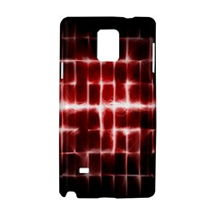 Electric Lines Pattern Samsung Galaxy Note 4 Hardshell Case