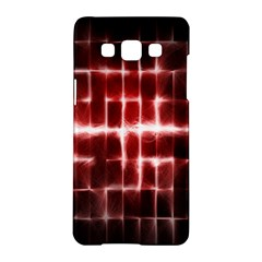 Electric Lines Pattern Samsung Galaxy A5 Hardshell Case