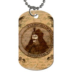Count Vlad Dracula Dog Tag (One Side)