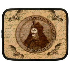 Count Vlad Dracula Netbook Case (XXL)