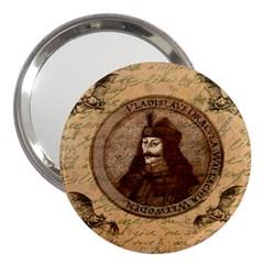 Count Vlad Dracula 3  Handbag Mirrors