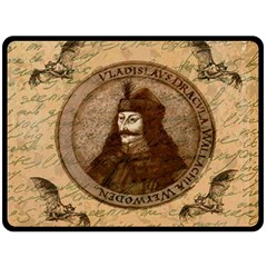 Count Vlad Dracula Double Sided Fleece Blanket (Large)